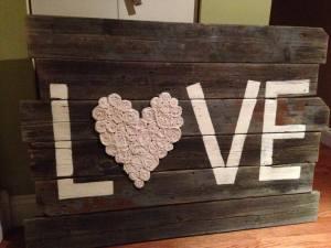 Love-burlap